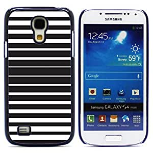 Graphic4You BLACK STRIPES PATTERN HARD CASE COVER FOR Samsung Galaxy S4 Mini