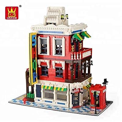 Imex Wange Corner Store Building Block Set: Toys & Games