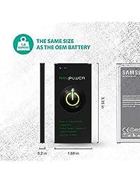 Batería de repuesto para Samsung Galaxy Note 4, S5, J3 y J5