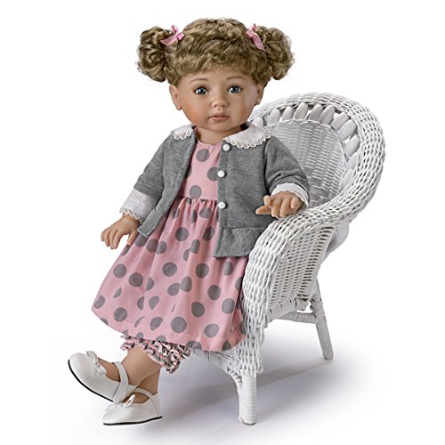 The Ashton-Drake Galleries Mayra Garza Poseable Child Doll with Vinyl Skin and Hold That Pose Armature by The Ashton-Drake Galleries (Image #4)