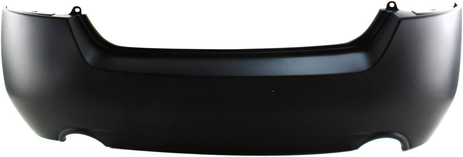 Bumper Cover For 2007-2012 Nissan Altima Sedan Rear Primed w// Dual Exhaust Holes