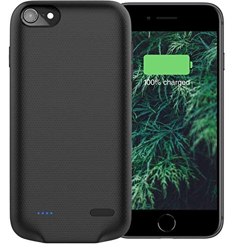 Battery Case, Hong S 4000mah iPhone 7/8 Portable Charger Case Extended Rechargeable Power Bank Protective Case Compatible with iPhone 6/6s