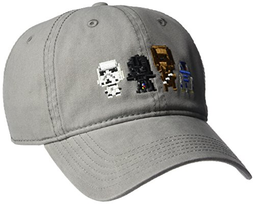 Star Wars Men's Characters, Grey, One - Snapback Wars Star