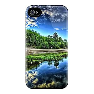 New Fashion Premium Tpu Case Cover For Iphone 4/4s - Re Visit