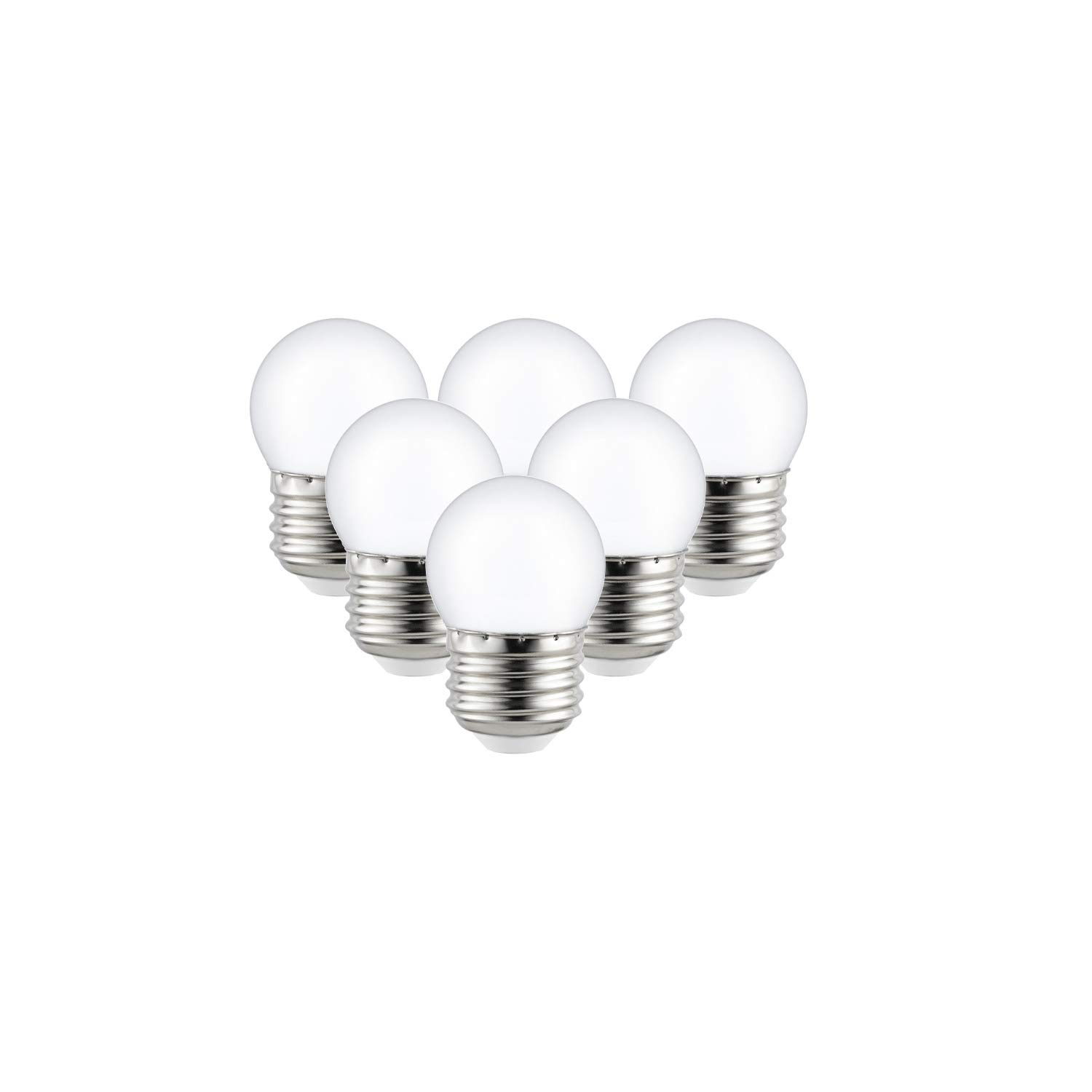 Sunlite 41067-SU LED S11 Refrigerator and Freezer Appliance Light Bulb, Warm White 6 Pack Frosted