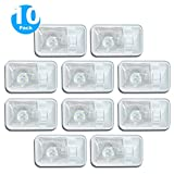 10 Pack 12V Led RV Ceiling Dome Light RV Interior Lighting for Trailer Camper with Switch, Single Dome 280LM