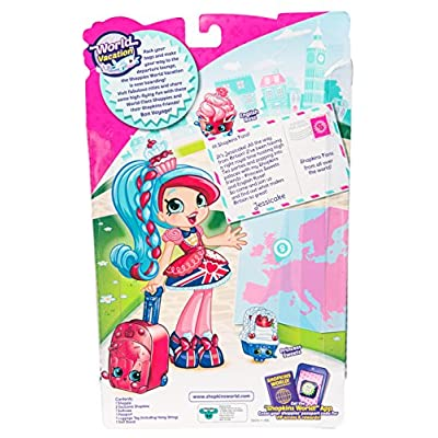 Shopkins World Vacation (Europe) Shoppies Doll - Jessicake: Shopkins: Toys & Games