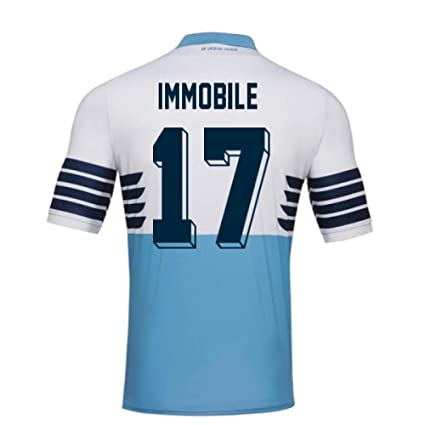 b53618f5a Image Unavailable. Image not available for. Color: 2018-19 Lazio Home  Football ...