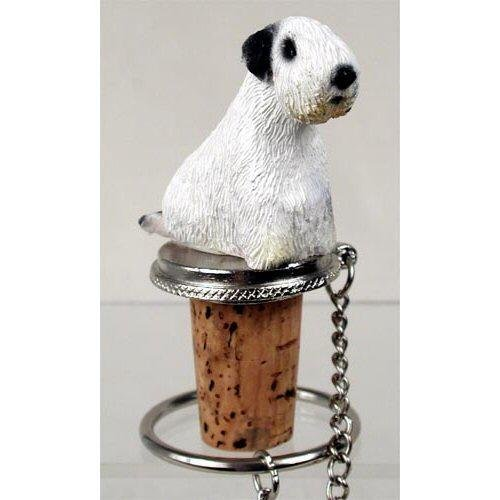 Sealyham Terrier Dog Bottle Buddy (3 in) Sealyham Terrier Dog Figurine