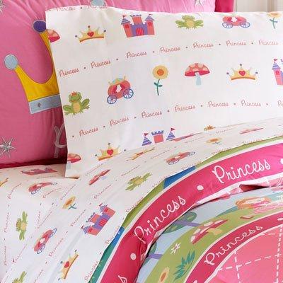 UPC 675716352172, Olive Kids Enchanted Castle Cotton 4-Piece Sheet Set, Full, Multi