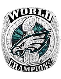 Philadelphia Eagles Ring, Super Bowl LII World Foles Wentz Championship Replica Ring