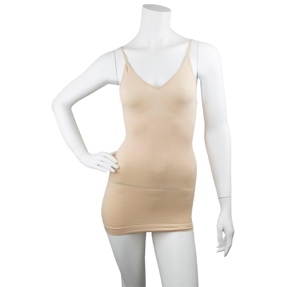 53a0bed7f85a91 Amazon.com  Pop Fashion Women s Shapewear Slimming Tank Top ...