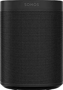 Sonos | One Altavoz Inalámbrico, Conexión red WiFi, Control por Voz, Asistente Amazon Alexa y Google Home, compatible iOS AirPlay 2, App Sonos, Negro