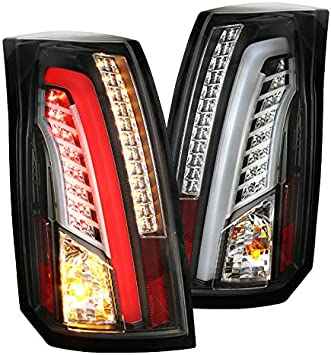 Spec-D Tuning LT-C1088JMLED-TM Black Tail Light Led
