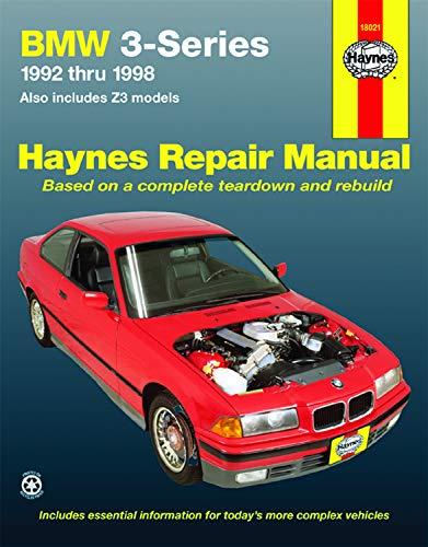 Bmw Owners Handbook - BMW 3Series, Including Z3, '92'98 (Haynes Repair Manuals)