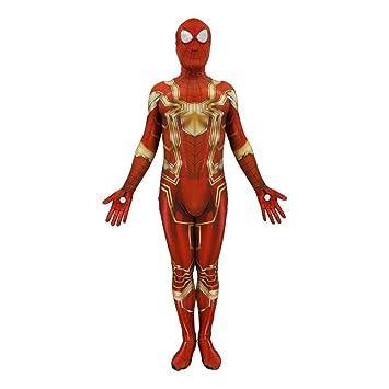 ASJUNQ Traje De Anime De Spiderman Cosplay Medias De Una ...
