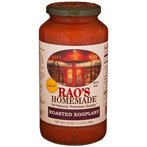 Rao's Homemade All Natural Roasted Eggplant Sauce - 24 oz (12 Pack)