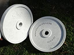 Hitechplates USA-Made 5 KG Weightlifting Technique Plates (Pair)