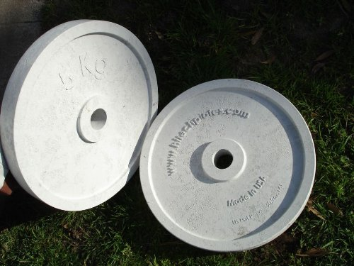 Hitechplates USA-Made 5 KG Weightlifting Technique Plates (Pair) by Ironcompany.com