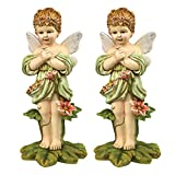 Design Toscano Gertie, the English Flower Fairy Statue: Set of Two Review