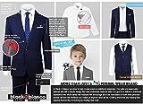 Black n Bianco Signature Boys' Slim Fit Suit in