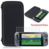 YZtree Nintendo Switch Carrying Case, YZtree Nintendo Switch Carrying Game Traveler Deluxe Travel Case with Screen Protector and soft card for Nintendo Switch 2017
