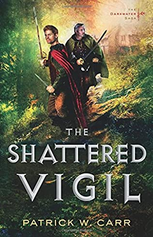 book cover of The Shattered Vigil