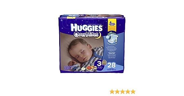 Amazon.com: Kimberly-Clark 40682 Huggies Overnite, Size 3, 16-28 lbs. (Pack of 112): Industrial & Scientific