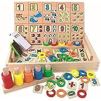 Montessori Educational Wooden Blocks Unisex Toy