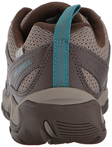 Vent Boulder Outmost Shoe Merrell Hiking Brown1 Men's Waterproof SqExSnTB