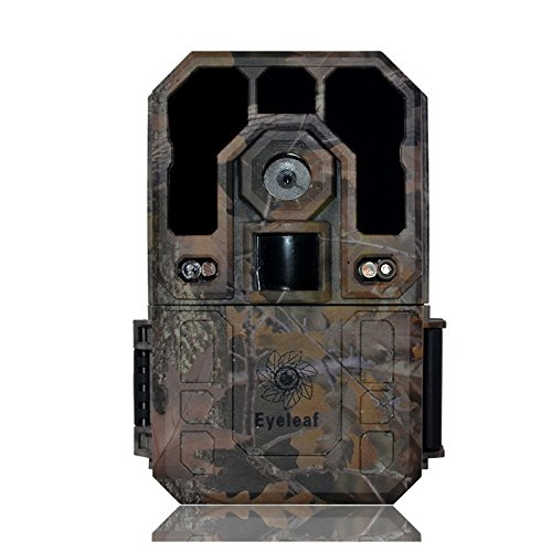 Eyeleaf 12MP 1080P Waterproof Digital Hunting Game Scouting Camera Wildlife Camera Trail Camera With Long Distance Night Vision with Time Laspe Function