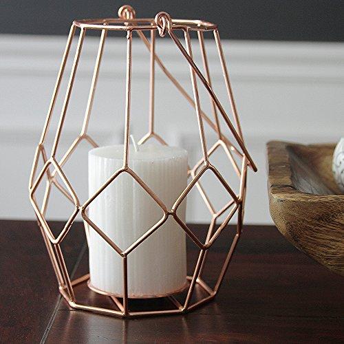 Alchemade Copper Votive Candle Holder Lantern - by