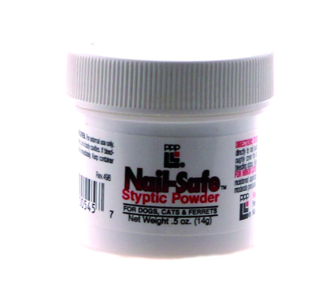 Professional Pet Products Nailsafe Styptic Powder .5 Oz by Professional Pet Products