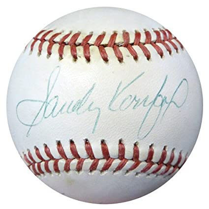 d887573c4 Image Unavailable. Image not available for. Color  Sandy Koufax and Don  Drysdale Signed Official National League Baseball Los Angeles Dodgers - PSA