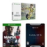 Xbox One S 500GB Console - FIFA 17 Bundle + Mafia III + Halo 5: Guardians Limited Edition