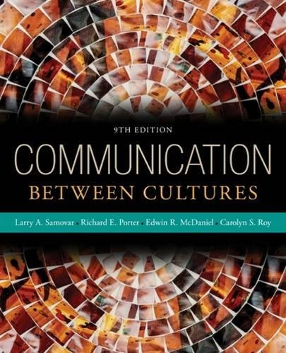 Communication Between Cultures by Wadsworth Publishing