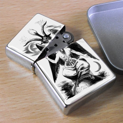 Crest Lighter (Horned God - Lighter by Family Crests)