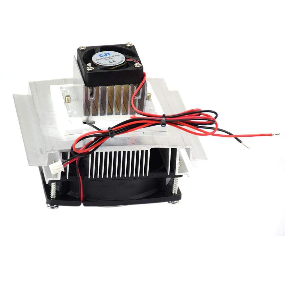 gaeruite 12V Thermoelektrischer Peltier-K/ühler tragbare Haustier-Klimaanlage-K/ühlung K/ühlsystem