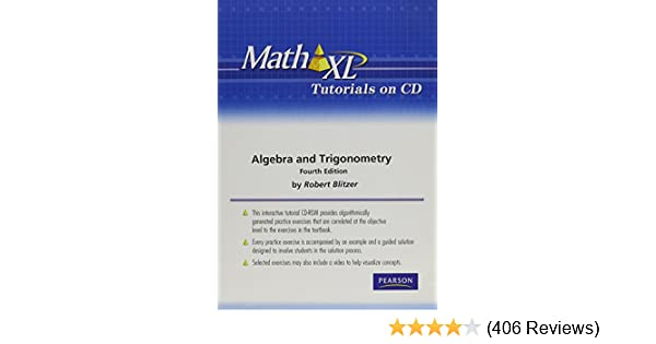 Mathxl tutorials on cd for algebra and trigonometry robert f mathxl tutorials on cd for algebra and trigonometry robert f blitzer 9780321575470 amazon books fandeluxe Images