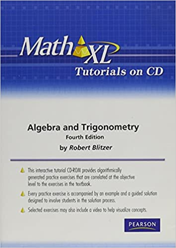 mathxl tutorials on cd for algebra and trigonometry robert f