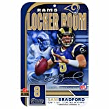 NFL St. Louis Rams Sam Bradford 11-by-17 inch Sign