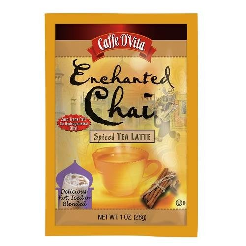 - Caffe D'Vita Enchanted Chai Tea Latte Mix, 1-Ounce Envelopes (Pack of 12)