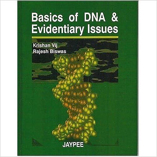 Ebooks gratuits liens de téléchargement Basics of DNA & Evidentiary Issues by Krishan Vij (French Edition) ePub B00BRAORTC
