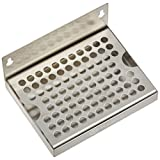 """Kegco DP-64 - 6"""" Stainless Steel Wall Mount Drip Tray No Drain"""