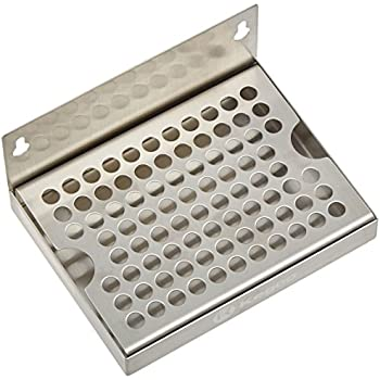 Amazon Com 6 Quot Wall Mount Drip Tray Stainless Steel No