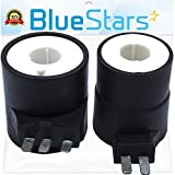 279834 Dryer Gas Valve Ignition Solenoid Coil Kit Replacement Part by Blue Stars - Exact Fit for Whirlpool & Kenmore Dryers