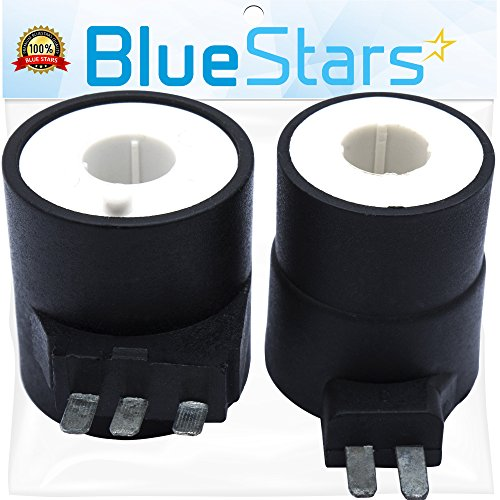 Ultra Durable 279834 Dryer Gas Valve Ignition Solenoid Coil Kit Replacement Part by Blue Stars - Exact Fit for Whirlpool Kenmore Maytag Dryers - Replaces AP3094251 PS334310 (Easy Valve Replacement)