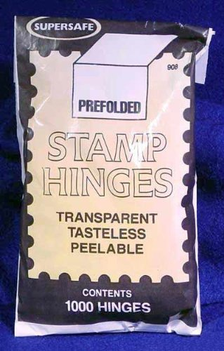 Supersafe Folded Stamp Hinges Pack of 1,000