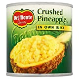 Del Monte Crushed Pineapple in Own Juice (435g) - Pack of 6