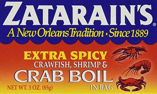 Zatarain's Extra Spicy Crawfish, Shrimp and Crab Boil - 3 Ounces